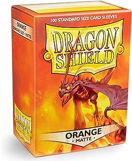 Arcane Tinman Dragon Shield Sleeves - Matte Orange Card Sleeves