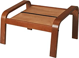 IKEA Poang Footstool Ottoman Frame, Medium Brown (Frame Only, No Cushion)