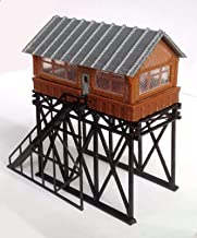 Outland Models Train Railway Layout Station Overhead Signal Box / Tower N Scale