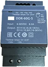 Meanwell DDR-60G-24 24V 2.5A 60W DIN Rail Type DC-DC Converter