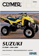 2003-2008 CLYMER SUZUKI ATV LT-Z400 SERVICE SHOP MANUAL M270-2