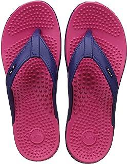 b285112ca9d62 FLITE Accupressure Slippers for Women Fl-291 Blue Pink 3UK (BBH-FL-