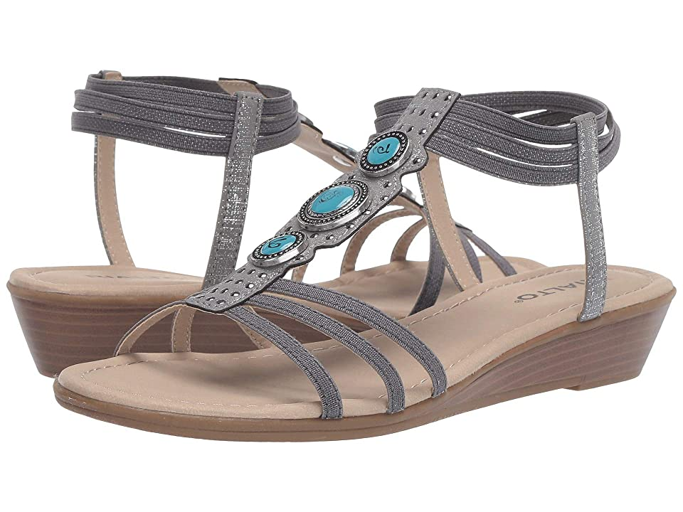 Rialto Georgy (Pewter Metallic Smooth) Women