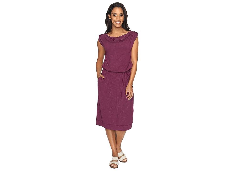 Royal Robbins Noe Dress (Plum Wine) Women
