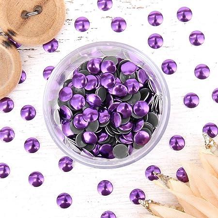 Amethyst 4 gross Threadart Hot Fix Metallic Nailheads 4mm 576 Nailheads Per Package