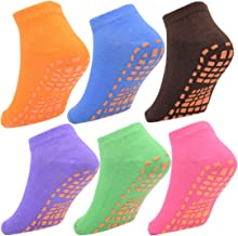 Toddler Socks Anti Skid Slip Socks Grip Socks For Kids With 6 Packs