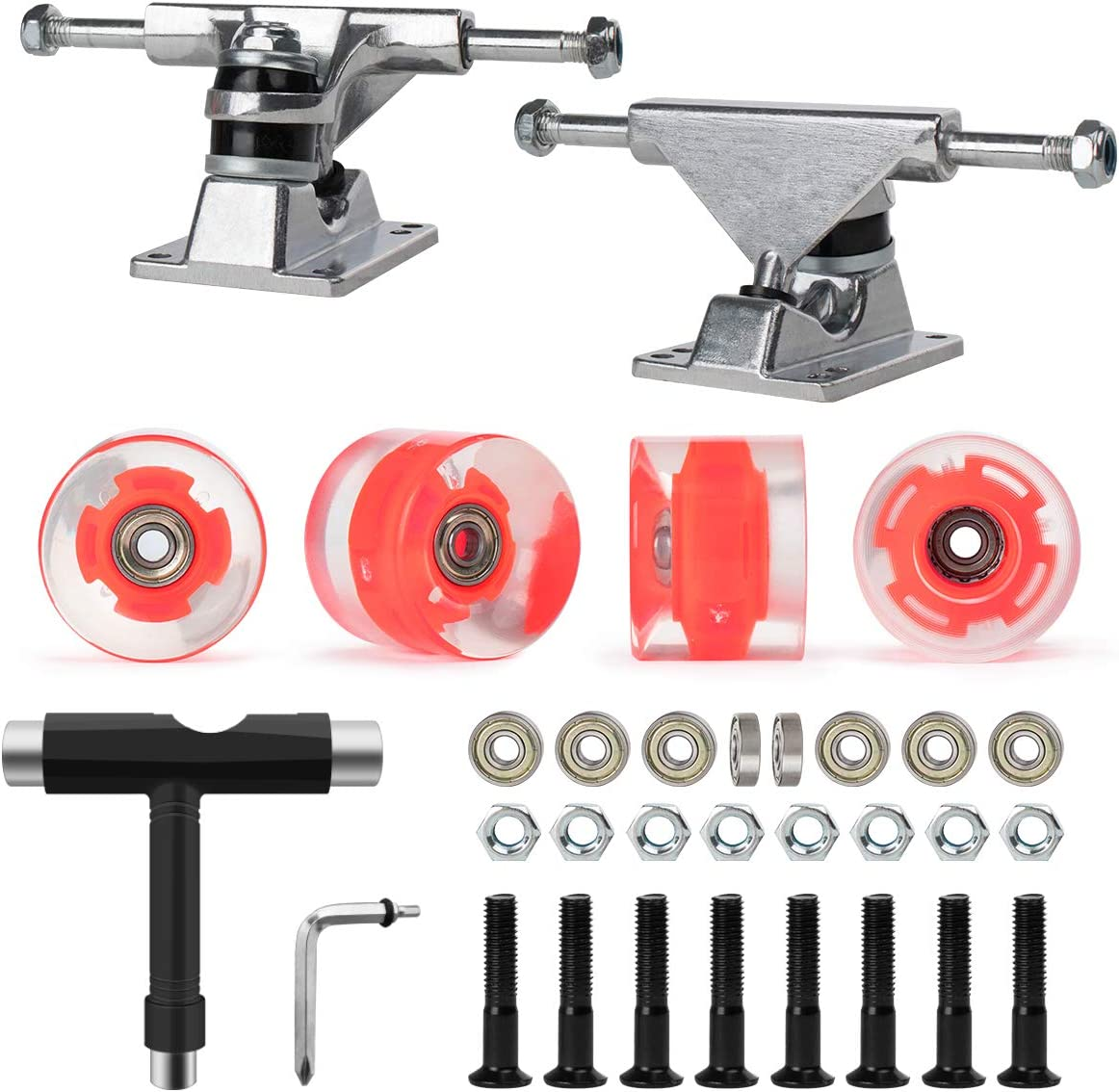 Max 65% OFF Nattork Skateboard Bearings 60mm Tr Wheels Max 46% OFF