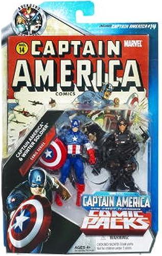 Marvel Universe Exclusive Captain America Movie Comic Pack - Captain America & Winter Soldier