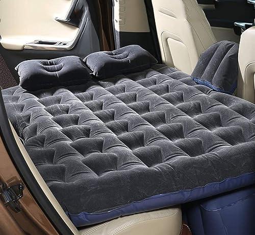 GBFD Matelas Gonflable Multifonctionnel de Voiture, Matelas d'air Gonflable de siège arrière de lit de Voiture pour Le Voyage de Camping