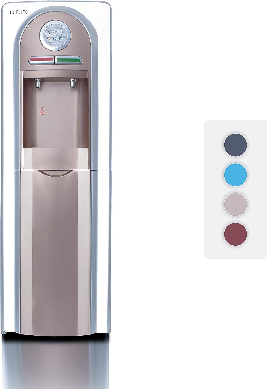 umweltfreundlich /& hygienisch B/ürobedarf Elektrischer Wasserspender f/ür hei/ße /& kalte Getr/änke Trinkwasserspender f/ür Haushalt Industriebedarf Standger/ät f/ür 5 bis 20 Liter Gallonen praktisch