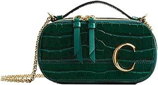 Luxury Fashion | Chloé Womens CHC20SS225A873H0 Green Shoulder Bag |