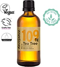 Naissance Tea Tree Essential Oil (#109) 100ml - Pure, Natural, Cruelty Free, Vegan & Undiluted