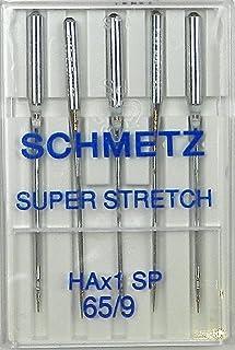 Single Packet Achetez 2 Get 3rd Free 65//9 Schmetz Lot de 10 aiguilles pour machine /à coudre industrielles 134 134 SES Bille Point//Jersey R Enfile-aiguille 134 SES