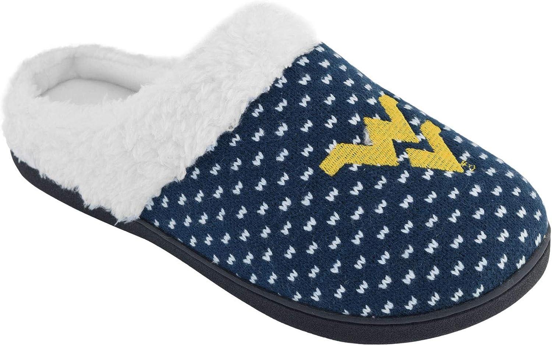 Campus Footnotes Women's West Virginia Mountaineers Birdseye Fur Slippers