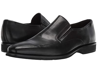 ECCO Calcan Apron Toe Slip-On (Black) Men
