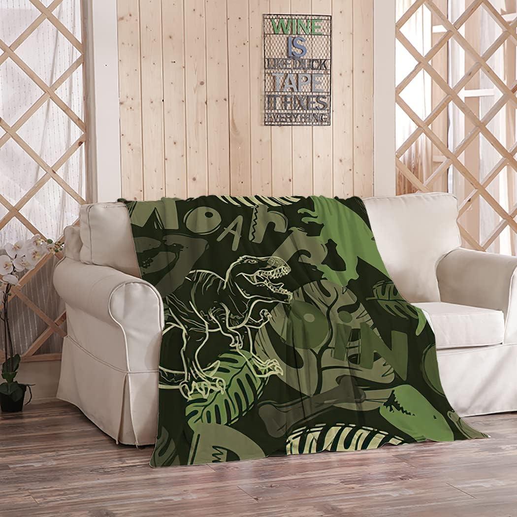 Hosima Graffiti Throw Blanket Bones Soft Popular product San Jose Mall and Footprints Fl Ultra