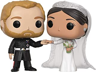 Funko Royals: The Duke and Duchess of Sussex (Prince Harry & Meghan Markle) Pop! Vinyl Figure 2 Pack (Includes Compatible Pop Box Protector Case)