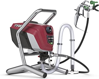 Titan Tool 0580009 Titan High Efficiency Airless Paint Sprayer, HEA technology decreases..