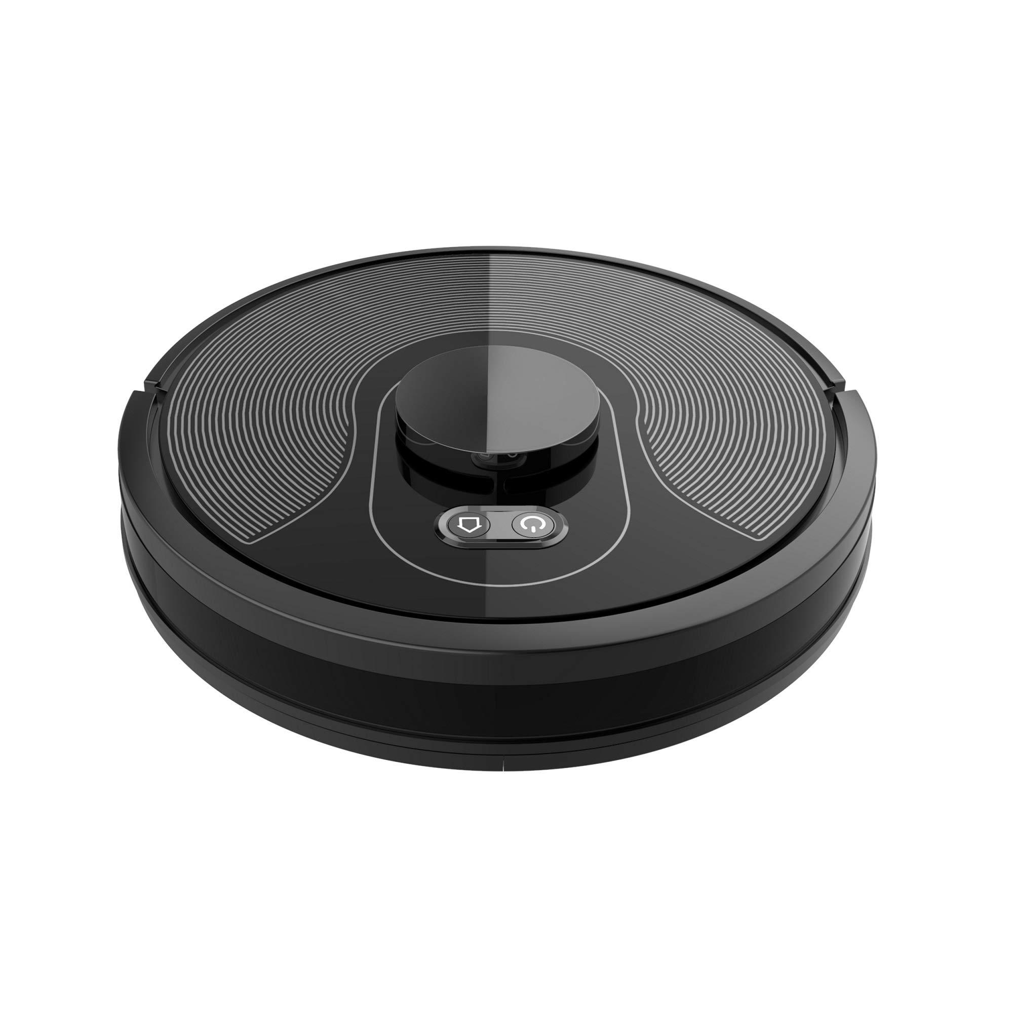 Robot aspirador con función de limpieza, robot de aspiración, navegación por láser con base de carga Alexa, compatible con control de aplicación, limpiador de vacío para el hogar: Amazon.es: Hogar