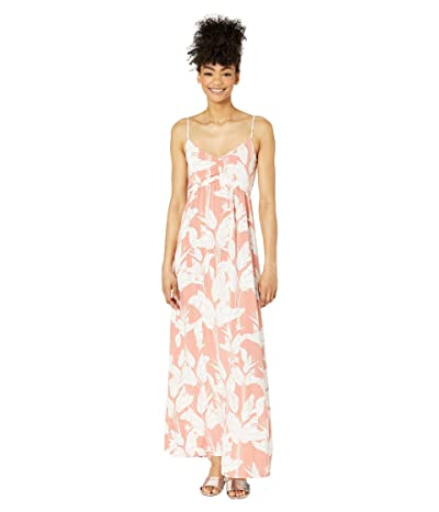 Roxy Brilliant Stars Maxi Dress (Terra Cotta Flying Flowers) Women