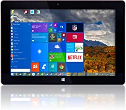 10'' Windows 10 by Fusion5 Ultra Slim Design Windows Tablet PC - 32GB Storage, 2GB RAM - Complete with Touch Screen, Dual ...