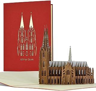 Gutschein für Reise I Wochenende in Köln, 3D Pop-up Karte