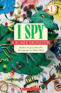 Best I Spy a Scary Monster (Scholastic Reader, Level 1): I Spy A Scary Monster Review