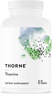 Thorne Research - Theanine - Amino Acid L-Theanine Supplement for Enhanced Relaxation, Focus, and Memory - 90 Capsules