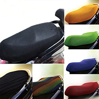 B Blesiya Red Anti-Slip Leather Motorcycle Seat Saddle Cushion Protector for Honda