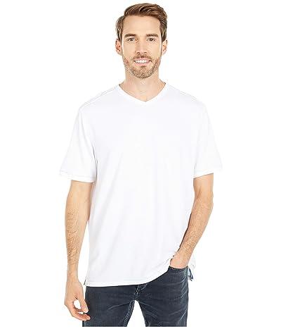 Tommy Bahama Tropicool Paradise IslandZone V-Neck T-Shirt (White) Men