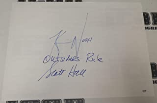 kevin nash autograph