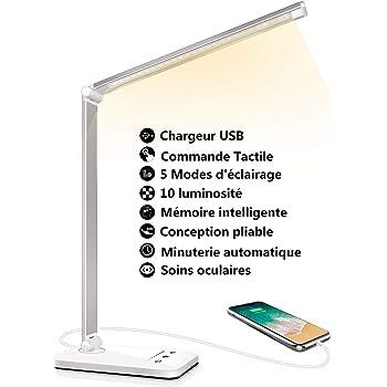 Une lampe de bureau puissante avec 5 niveaux de luminosité