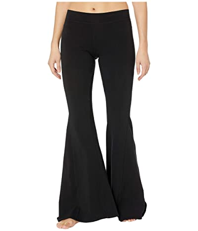 Hard Tail Hippie Chick Flare Pants (Black) Women