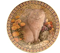 Lesley Anne Ivory Cats Among The Flowers Reginald in Marigolds and Pansies GB288