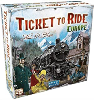 Ticket to Ride Game Train Adventure Board Game, Strategy Games voor volwassenen en tieners Ideaal voor thuis entertainment...