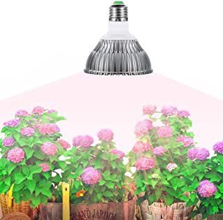 Gianor E27 45W Led Grow Light Full Spectrum Led Grow Bulb 78PCs SMD 5730 Chips Greenhouse Growing and Flowering Lamps for Indoor Garden and Hydroponic Plants(AC 85~265V)