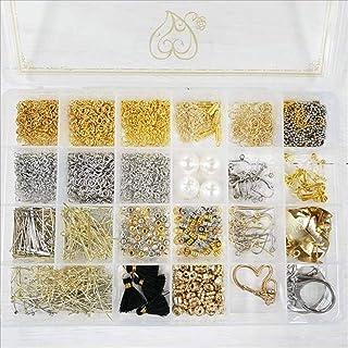 紗や工房 アクセサリーパーツセット36種 工具なし ハンドメイド アクセサリーパーツ