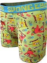 Underboss Men's Spongebob and Patrick Jellyfishing Boxer Briefs