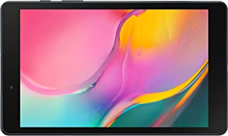 "Samsung Galaxy Tab A 8.0"", Lightweight Android Tablet with Large Screen Feel, WiFi, Camera, Long-Lasting Battery, 64 GB, Black"