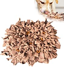 Jmxu's Dog Snuffle Mat Pet Nosework Slow Feeding Mat Encourages Natural Foraging Skills IQ Training, Durable and Machine Washable