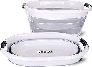 Panier à linge Premium, pliable et imperméable – Volume XXL pour un maximum de 9 kg de linge – Buanderie (gris)