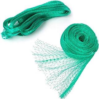 Bird Netting, Green Garden Bird Net, Reusable Anti Bird Protection Net Mesh Garden Netting Protect Seedlings Plants Flower...