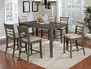 Best 7 piece dining set counter height Reviews