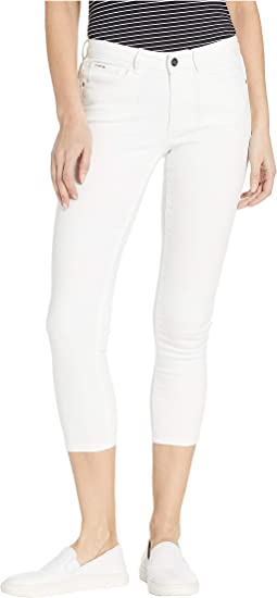 Heartbreaker Capris Crop in White