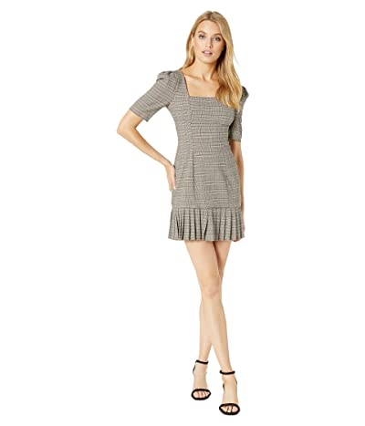 BCBGeneration Short Sleeve Woven Dress THX6226365 (Multi) Women