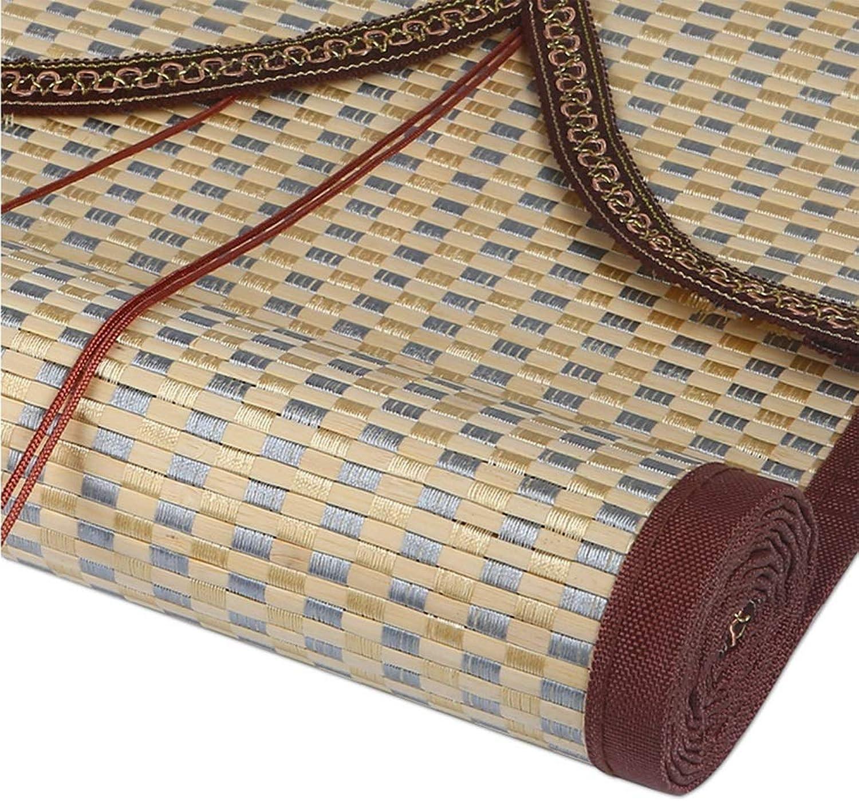 suministramos lo mejor Persiana Persiana Persiana Enrollable de bambú 90% del Apagón Persiana De Bambú - Prueba De Moho, Cortinas De Filtrado De Luz Privacidad Cortinas - con Cenefas De Onda, para Interior Al Aire Libre (Tamao   60x160cm)  promociones de descuento