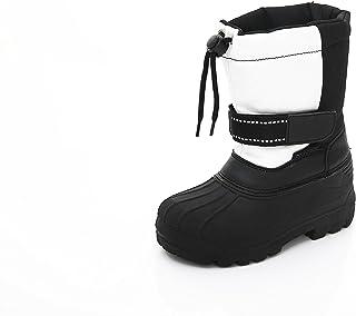 Unisex Kids Winter Snow Boots - Insulated Toddler/Little Kid/Big Kid