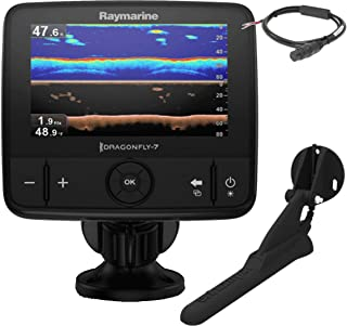 Raymarine Dragonfly 7PRO Sonda Plotter sin Cartografia Resistencia al Agua IPX6 y IPX7 E70320, Náutica, Negro