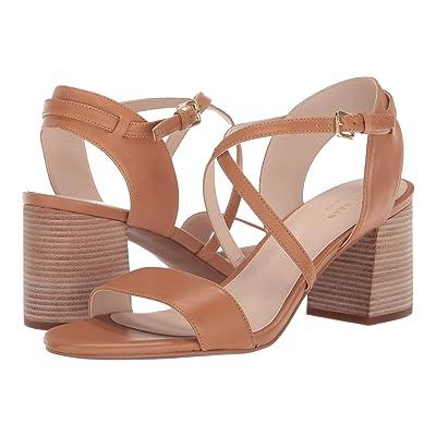 Cole Haan Joslyn Block Heel Sandal (Pecan Leather) Women