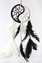 Odishabazaar Ying Yang Dream Catcher Wall Hanging - Attract Positive Dreams & Positive Thinking (for Home/Office/Institute/Shop/Hostel/PG/Hotels/Restaurants)